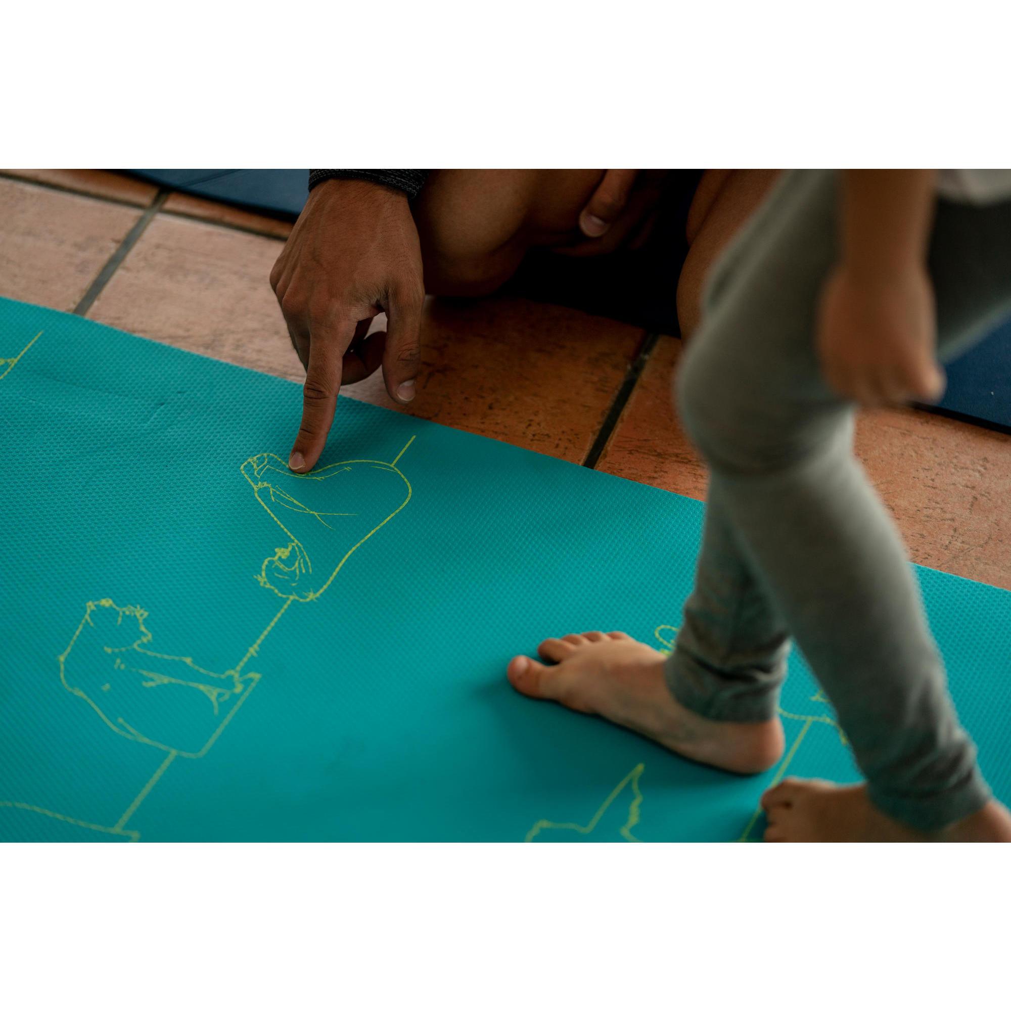 tapis yoga enfant ourson 5 mm