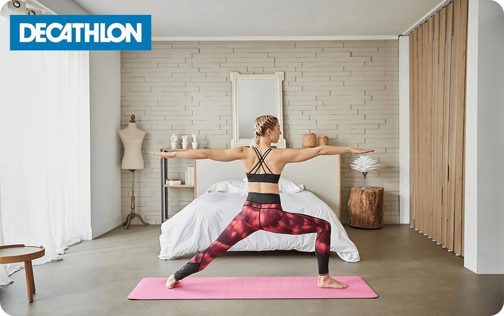 komanda da doprinese bunker coussin pour yoga decathlon