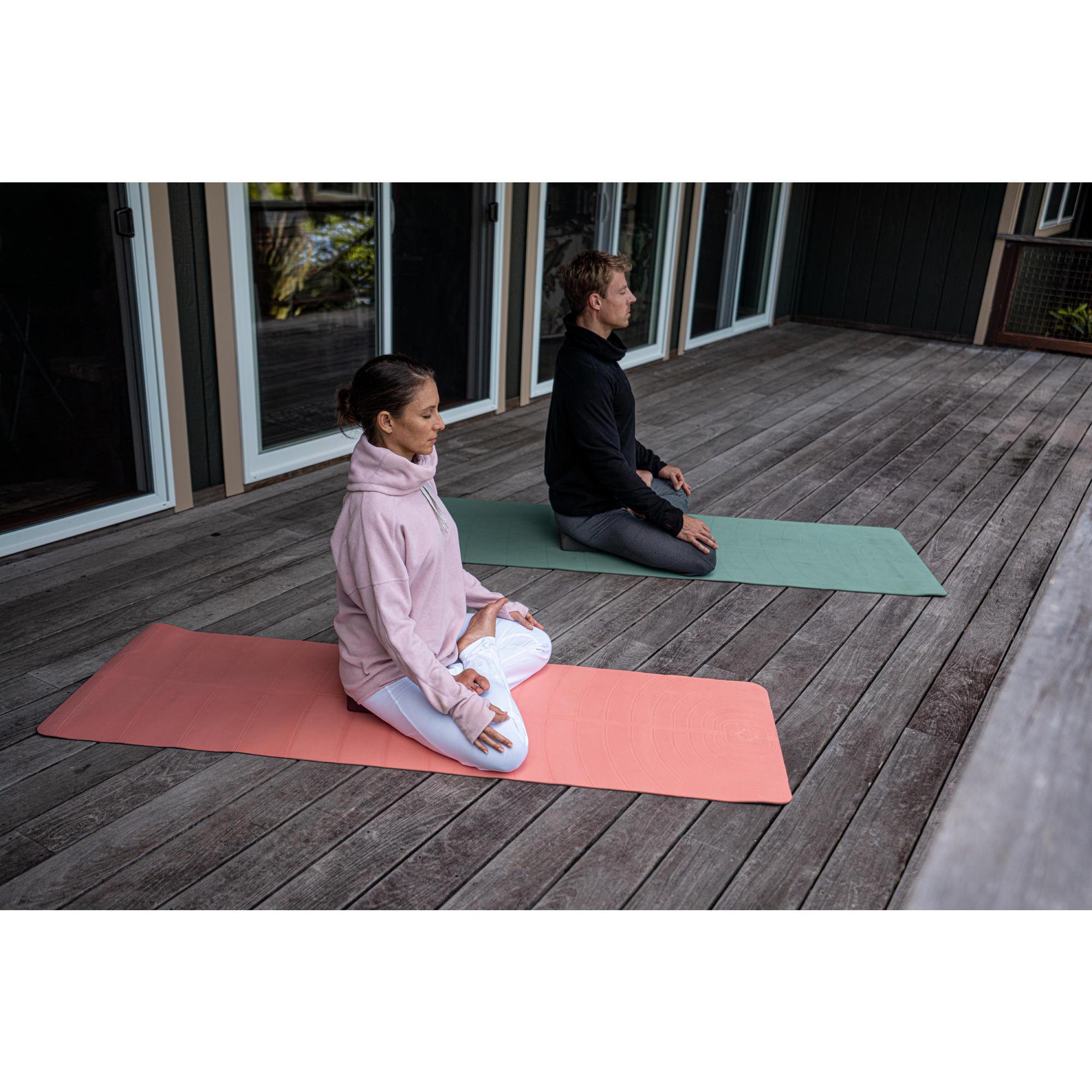 tapis yoga doux club 5 mm