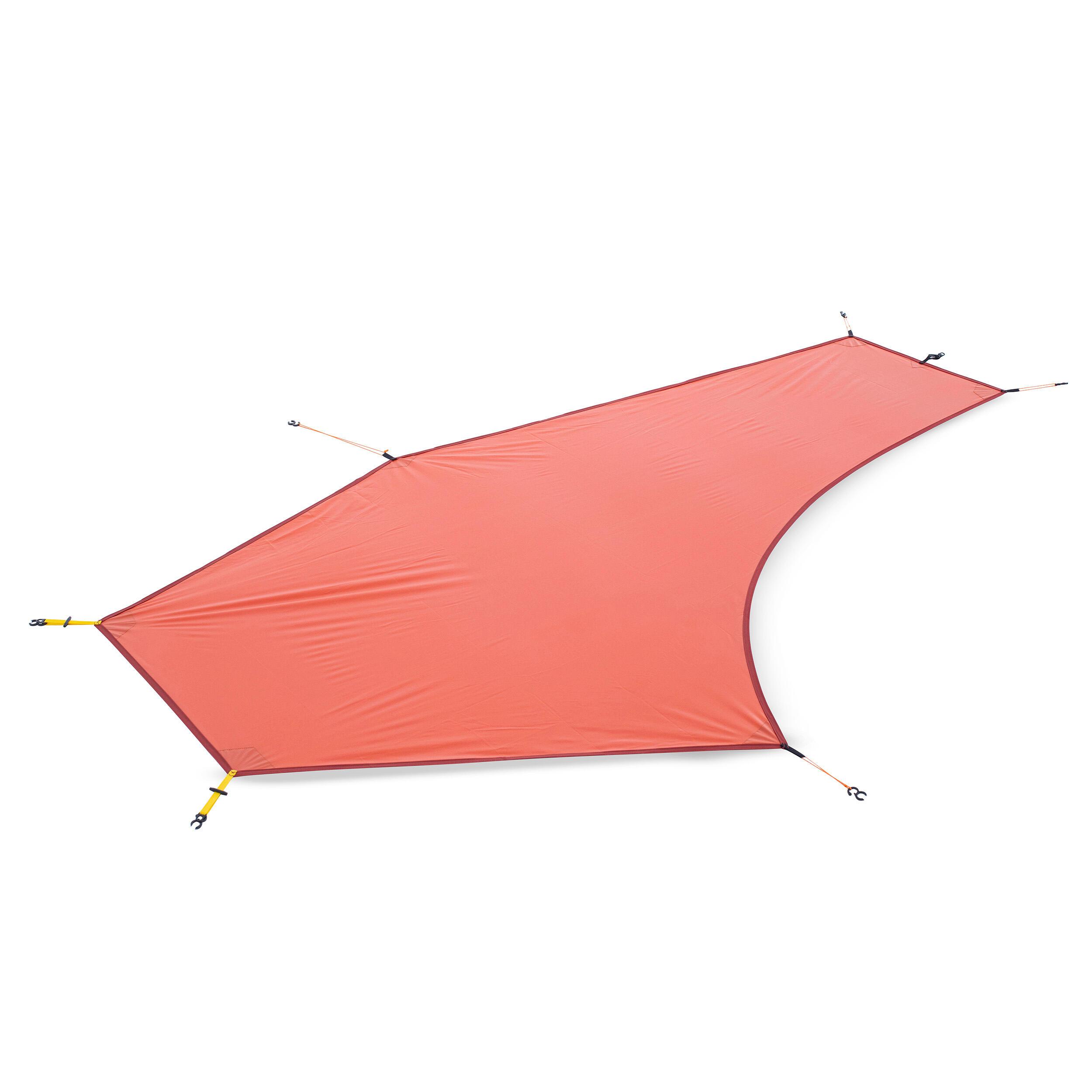 tapis de sol ultralight tente trek 900 1 personne orange