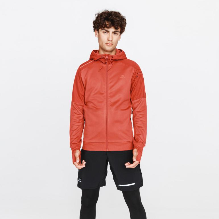 Men's Running Run Warm + Jacket Brick Red