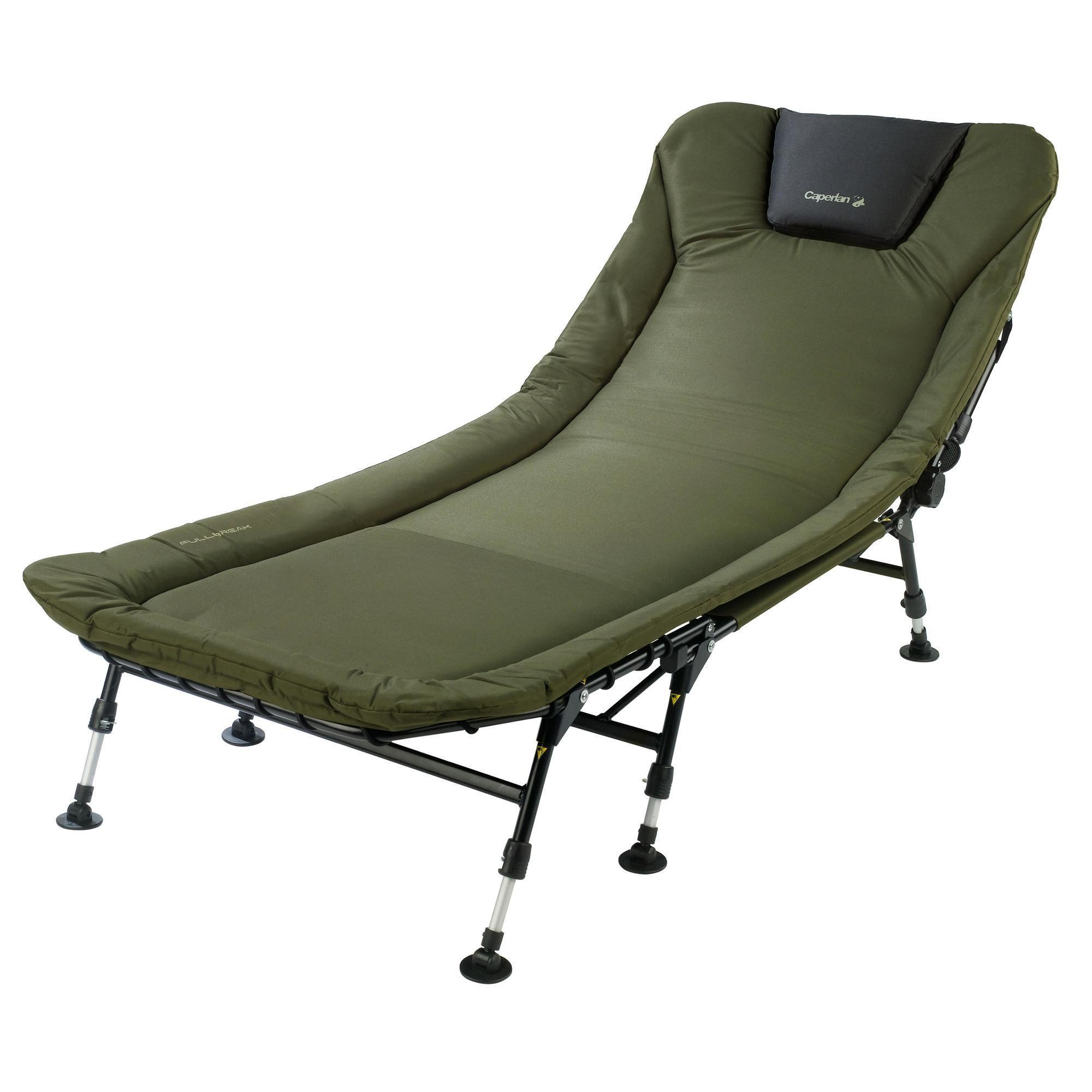 fishing chair bed reviews seat warmer for office fullbreak carp caperlan