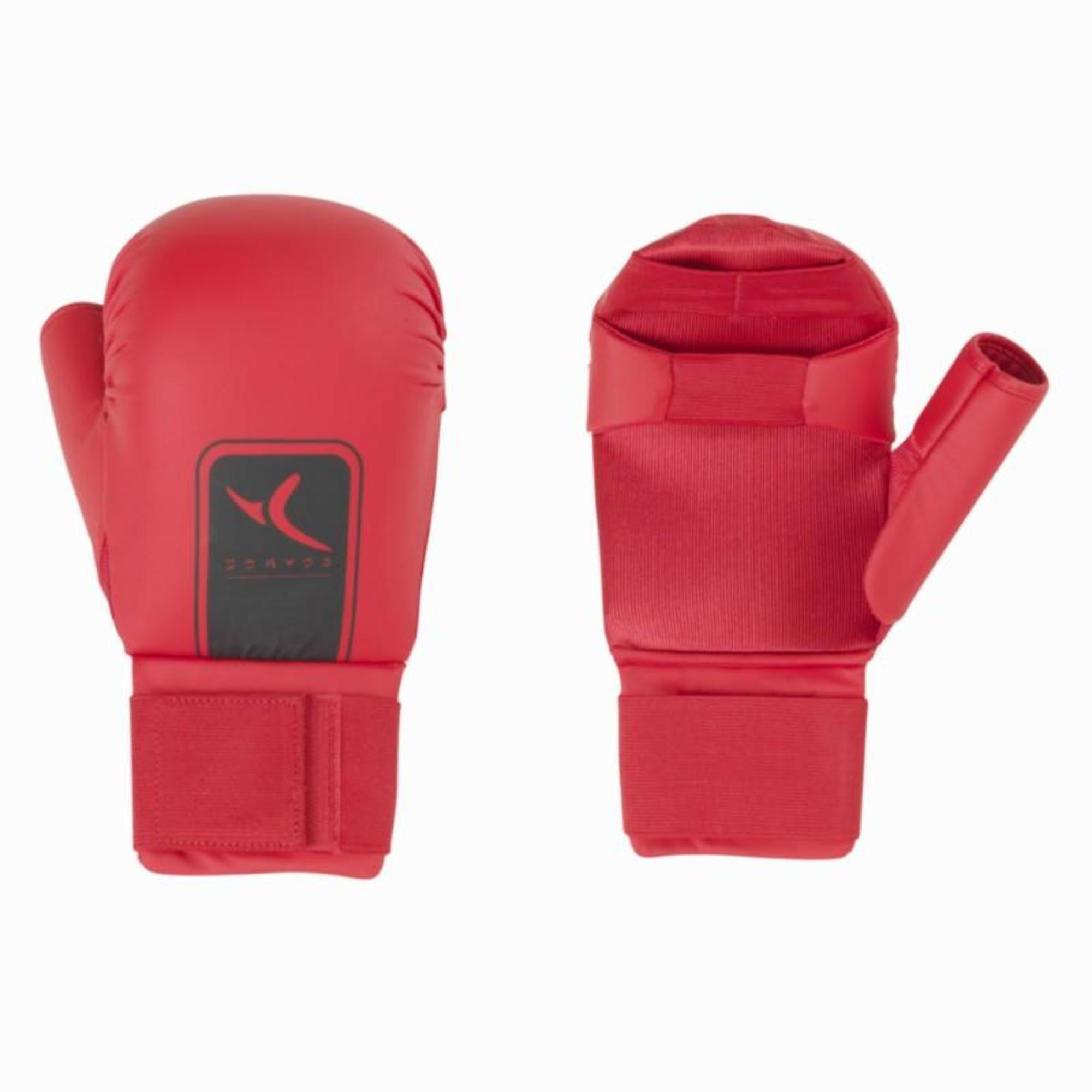 Karate Gloves  Red  Domyos by Decathlon