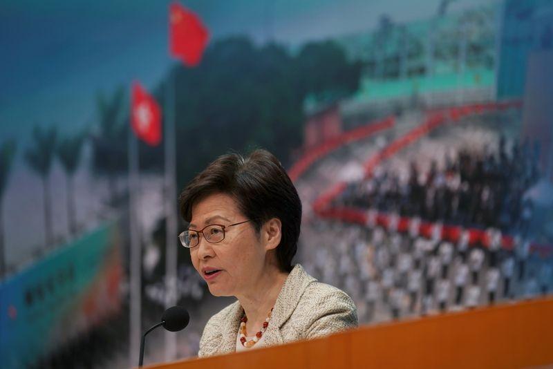 香港立法會選挙、12月に実施の方針=行政長官