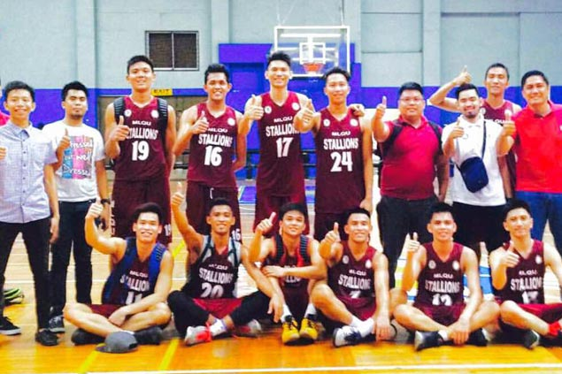 MLQU eyes PBA DLeague stint after sweep over St Dominic