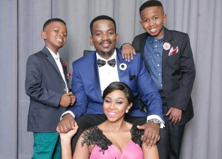 Sfiso Ncwane Wife and Children