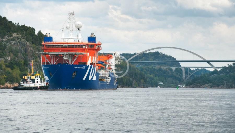 Kabelbåt i Svinesund 2