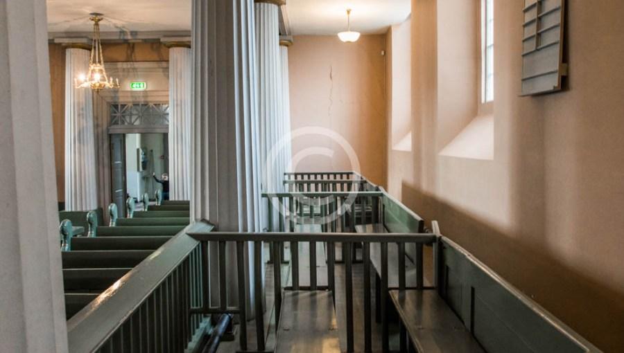 Lukkede benker i Immanuels kirke