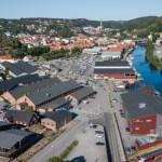 foto, dronebilde, flyfoto, halden, Østfold, contentvideo.no