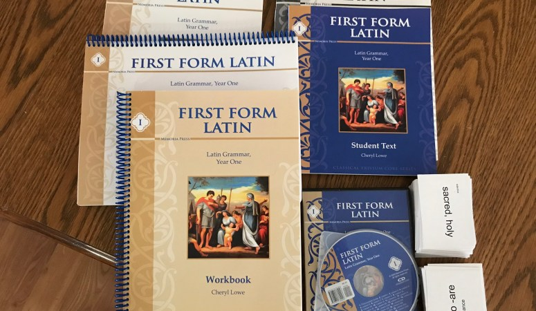 Memoria Press First Form Latin Review
