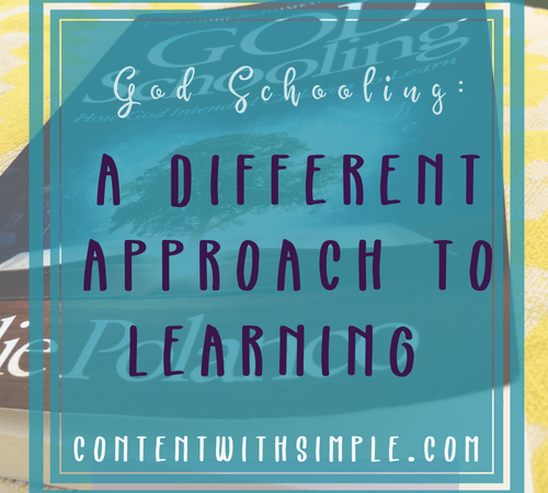 God Schooling: A Different Approach to Learning Book Review
