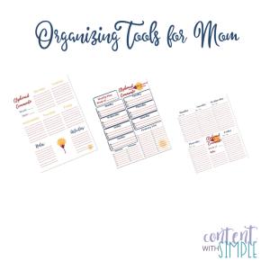 Organizing Tools