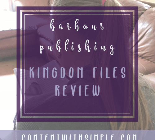 Barbour Publishing Kingdom File Series Review