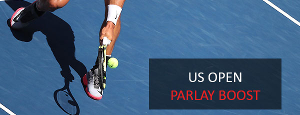 US Open tennis parlay boost