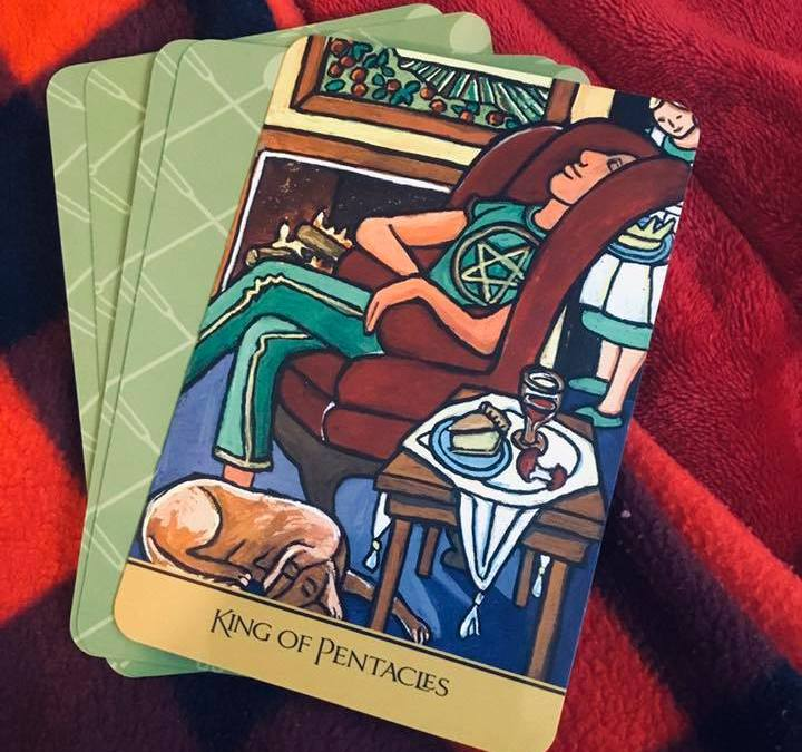 Messages & Mimosas – King of Pentacles