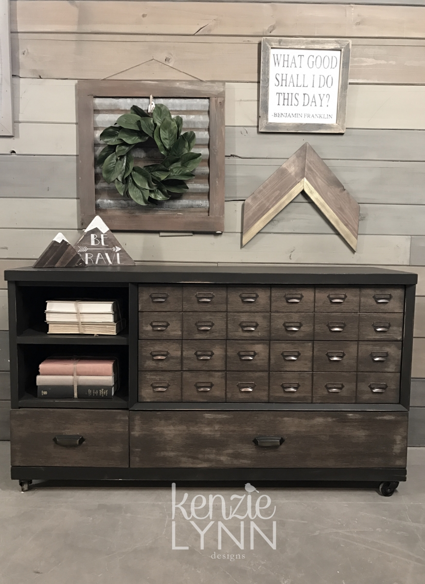 Apothecary Media Cabinet  General Finishes 2018 Design