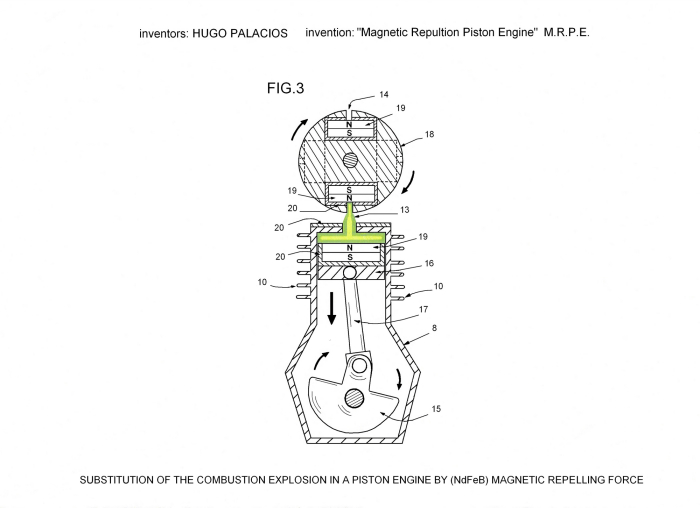 Magnetic Repulsion Piston Engine (MRPE) :: Create the
