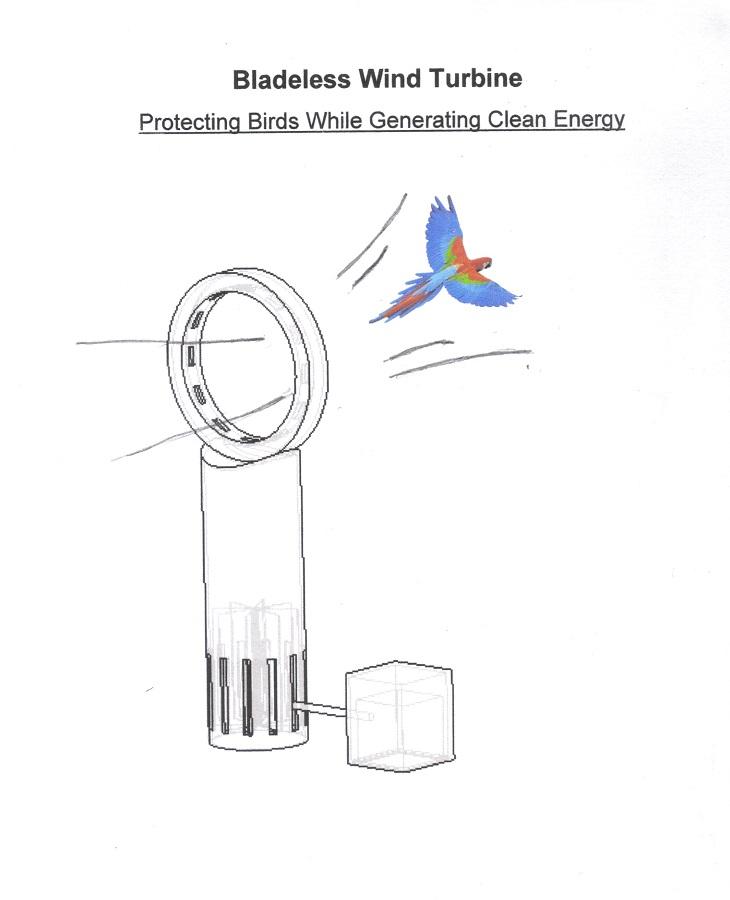 Bladeless Wind Turbine :: Create the Future Design Contest