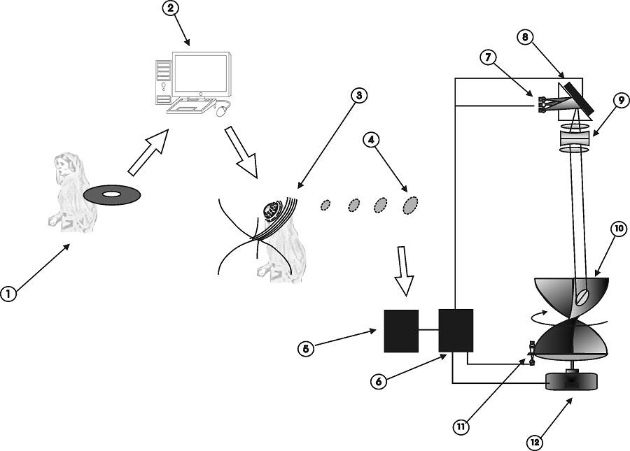 3 Dimensional Spatial Projector