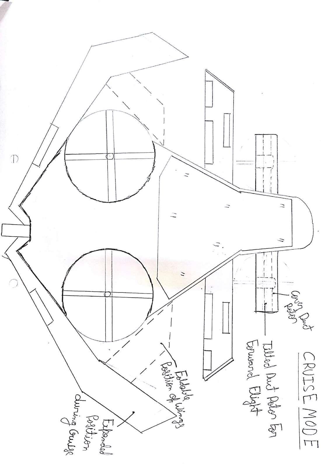 Evtol Foldable Wing Aircraft Create The Future Design