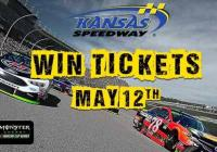 WDAF Kansas Speedway 2018 Sweepstakes – Stand Chance to Win Tickets To The Kansas Speedway NASCAR Race
