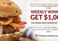 Pepperidge Farm Respect The Bun Sweepstakes – Chance To Win $10,000 Cash