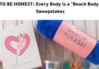 Every Body Is A Beach Body Sweepstakes – Stand Chance to Win A Fun-In-The-Sun Prize Pack