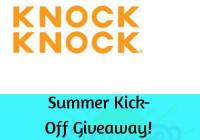 Summer Kick-Off Giveaway – Stand Chance To Win $100 In Knock Knock, A Pair Of Panda Sunglasses And Gift Cards