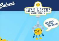 Culver's Curd Rescue Sweepstakes – Win Curds For A Year And Curd Nerd Prize Pack