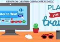 Montenegro Christmas Getaway Trip Sweepstakes