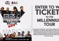 Millennium Tour Register To Win Sweepstakes - Chance To Win Pair Of Tickets And Movie Pass