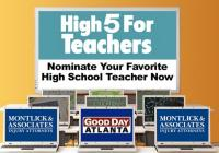 FOX 5 High 5 For Teachers Contest