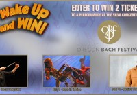 Kezi Wake Up and Win Oregon Bach Festival Sweepstakes - Stand To Win A Pair Of Tickets