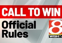 WISH TV Call to Win Sweepstakes - Enter To Win $600 Prizes