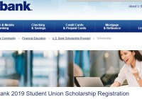 U.S. Bank Student Union Scholarship Sweepstakes - Enter To Win a $20,000 Scholarship Award