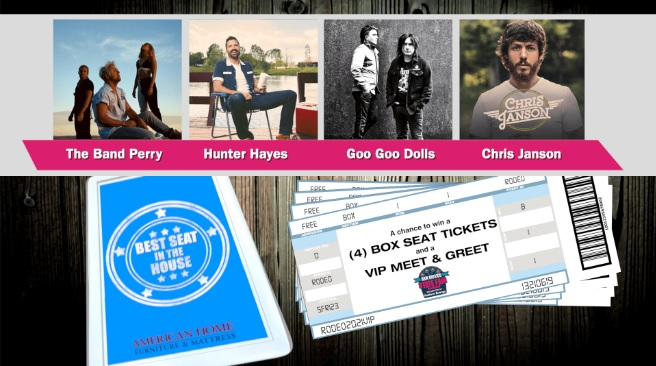 NM State Fair And American Home Best Seat In The House Concert Giveaway