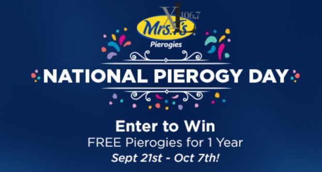 IHeartMedia Celebrate National Pierogy Day Sweepstakes