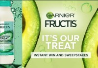 Garnier Its Our Treat Instant Win Game Sweepstakes