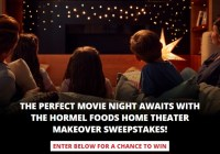 Hormel Foods Sales Hormel Foods Home Theater Makeover Sweepstakes