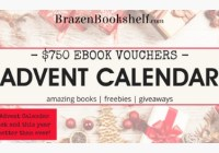 Brazen Bookshelf Advent Calendar Giveaway