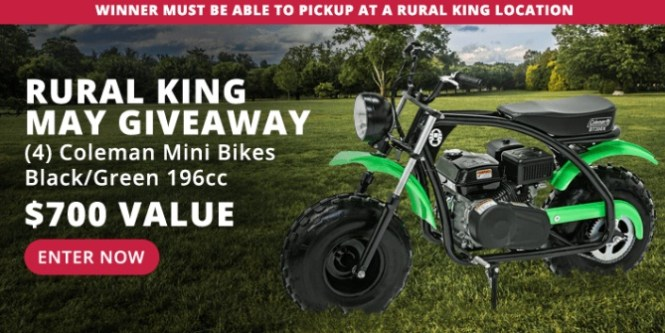RK Holdings Rural King May Giveaway