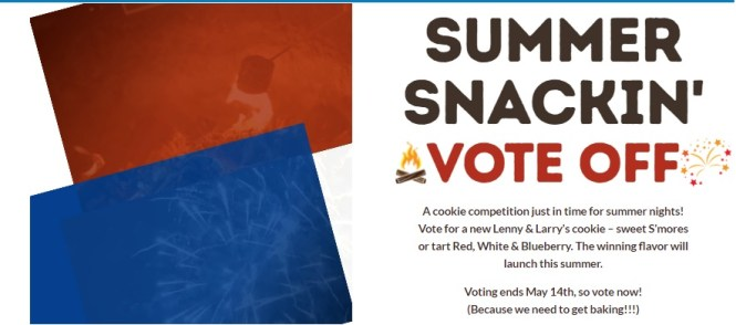 Lenny And Larry Summer Snackin Sweepstakes