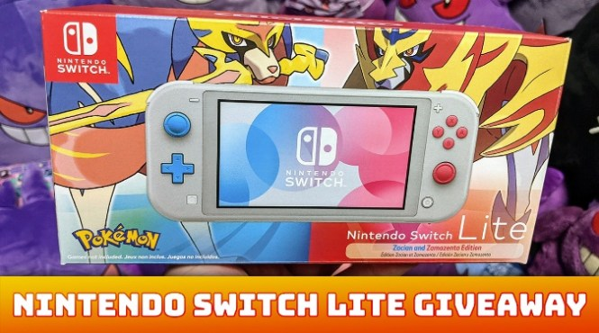 Nintendo Switch Lite And NEW Pokemon Snap Giveaway