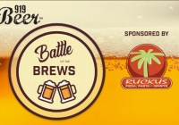 Ruckus Pizza, Pasta And Spirits 919 Beer Battle Of The Brews Sweepstakes
