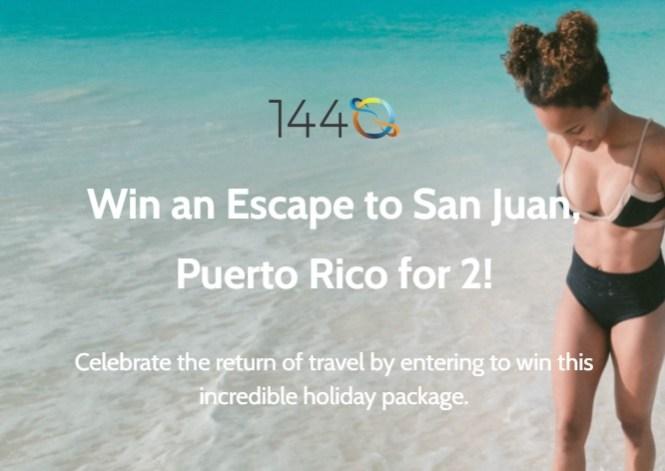 Escape to San Juan, Puerto Rico Giveaway
