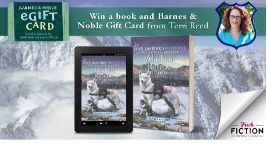 Fresh Fiction Terri Reed May Giveaway