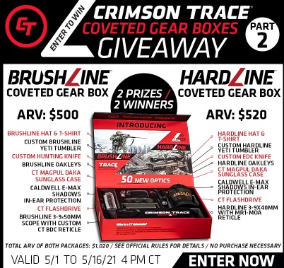 Midway USA Crimson Trace Coveted Gear Box Giveaway