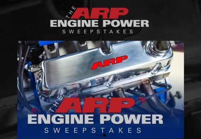 PowerNation TV ARP Engine Power Sweepstakes