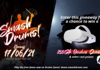 Smash Drums Launch Date Announcement Giveway