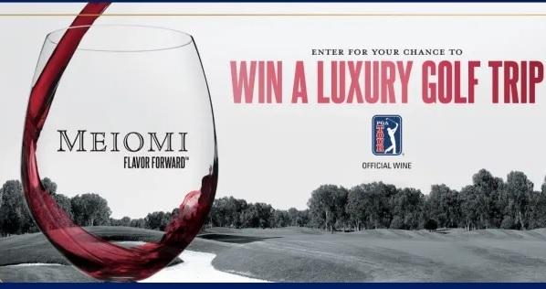 2021 Meiomi Luxury Golf Trip Sweepstakes